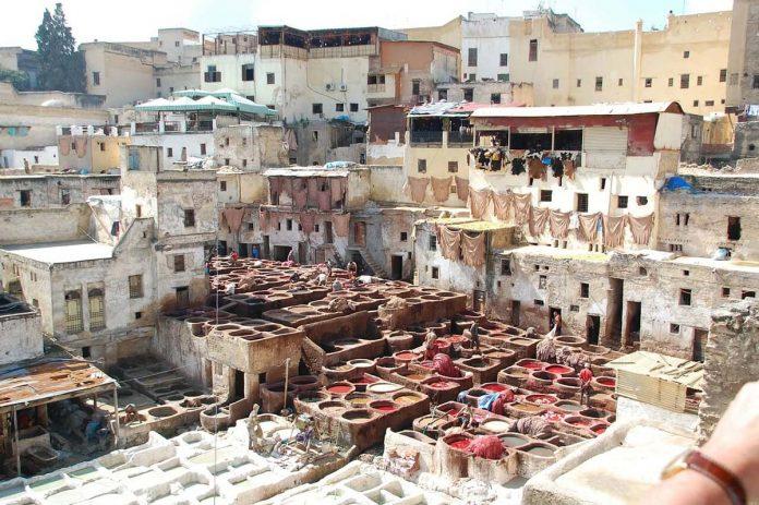 Chouara tannery, Fez Morocco