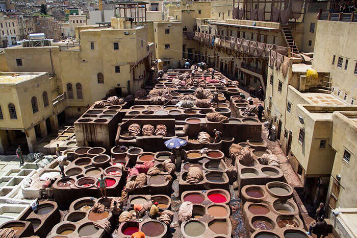 Best places to visit in morocco in 2021, Leather Tanneries, Fes