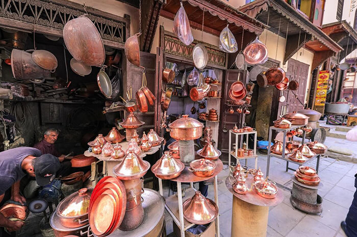 Place es Seffarin, Fez Morocco