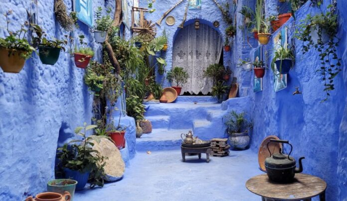 The blue city of Morocco, Chefchaouen