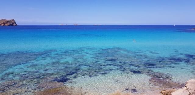 Cala Iris beach